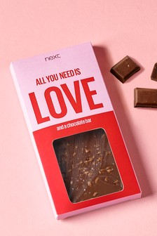 All You Need Is Love Chocolate Bar