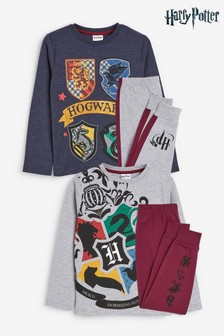 2 Pack Harry Potter Pyjamas (3-14yrs)
