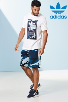 adidas Originals Blue Camo Short