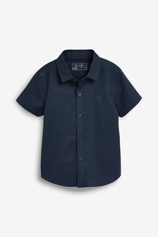 Short Sleeve Oxford Shirt (3mths-7yrs)