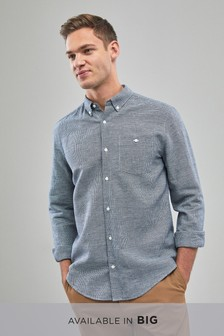 Linen/Cotton Long Sleeve Shirt