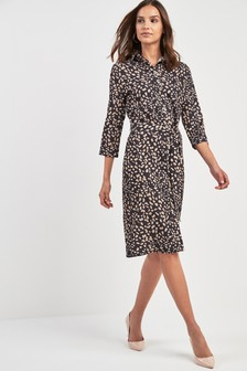 5d9f34e4960 Animal Print Dresses | Leopard & Snake Print Dresses | Next Ireland