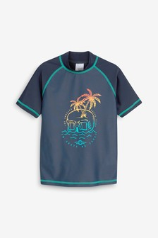 Skull Sunsafe Rash Vest (3-16yrs)