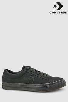 Converse Black One Star Trainer