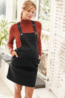 Maternity Denim Pinafore