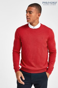 Polo Golf by Ralph Lauren Merino Crew Neck Jumper