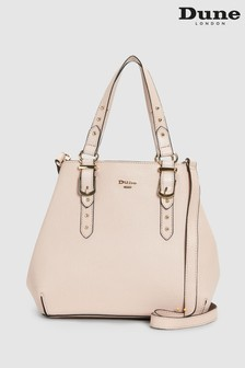 Dune Accessories Pink Small Buckle Detail Grab Bag