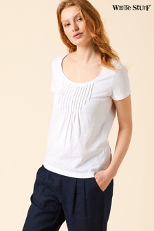 White Stuff Hannah Fairtrade White Jersey Tee