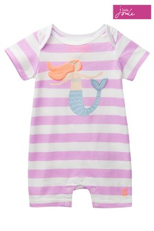 Joules Purple Mindy 3D Novelty Babygrow