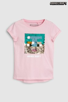 Minecraft Sequin T-Shirt (3-16yrs)