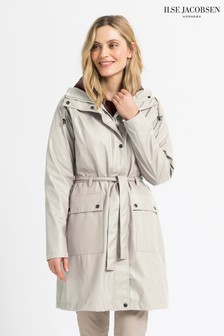 Ilse Jacobsen Cream Raincoat