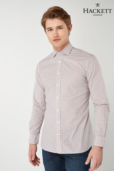 Hackett Red Checked Shirt