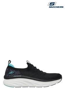 Skechers Black D'Lux Walker Star Stunner Shoes