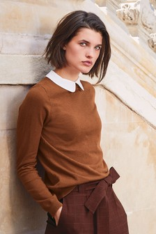 Collar Layer Sweater