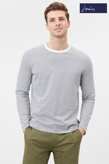 Joules Cream Haydock Long Sleeve T-Shirt
