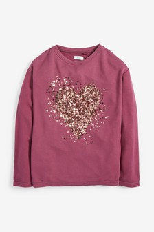 Soft Touch Sequin Top (3-16yrs)
