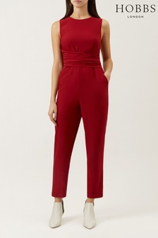 Hobbs Red Twitchill Jumpsuit