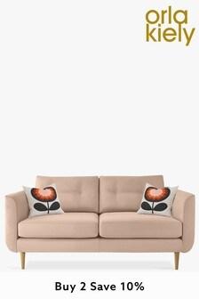 Orla Kiely Linden Medium Sofa With Oak Feet