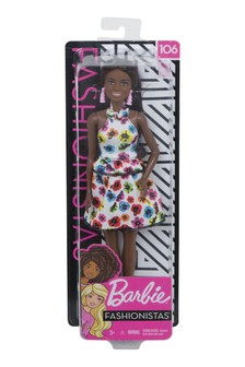 Barbie Fashionistas Doll With Long Brunette Hair