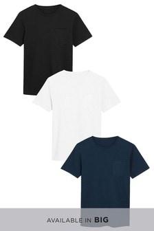 Набор из трех фактурных футболок