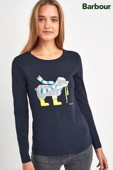 Barbour® Coastal Navy Dog Paddle T-Shirt