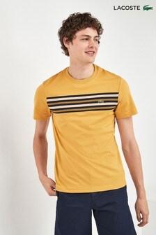 Lacoste® Stripe Panel T-Shirt