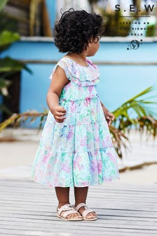 Monsoon Blue S.E.W. Baby Bonita Recycled Dress