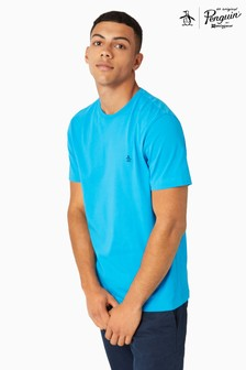 Original Penguin® Diva Blue Embroidery Tee