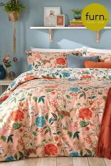 Furn Pink Azalea Duvet Cover And Pillowcase Set