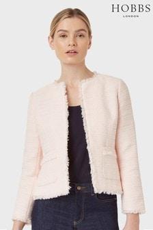 Hobbs Pink Kathleen Jacket