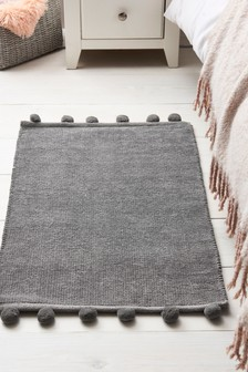 Pom Edge Soft Touch Rug
