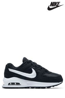 Nike Black/White Air Max Command Junior Trainers
