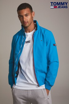 Tommy Jeans Blue Casual Bomber Jacket