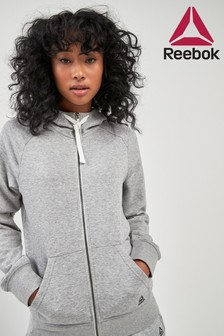 Reebok Fleece Zip Through Hoody