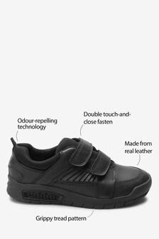 Leather Ventec Double Strap Shoes (Older)