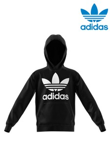 adidas Originals Black Trefoil Hoody