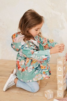 Floral Print Mac (3mths-7yrs)