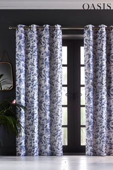 Oasis Amelia Eyelet Curtains