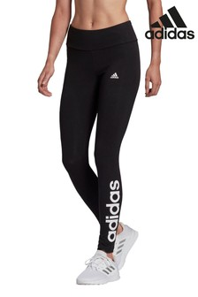 adidas Black Linear High Waisted Leggings