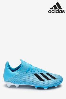 adidas Blue Hardwired X Firm Ground Football Boots