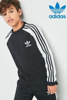 adidas Originals 3 Stripe Long Sleeve Tee