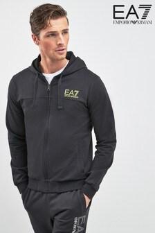 EA7 Reverse Logo Hoody