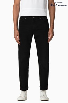 Ben Sherman Clean Black Straight Jean