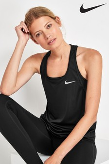 Nike Run Miler Racer Tank Top
