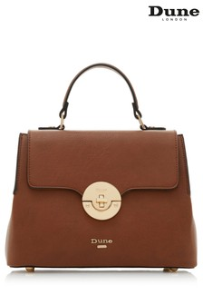 Dune Accessories Tan Medium Circle Hardware Tote