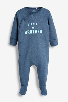 Brother Slogan Sleepsuit (0-18mths)