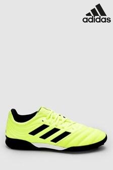 adidas Yellow Hardwired Copa Turf Football Boots
