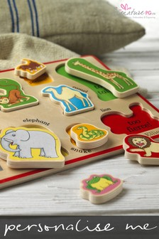 Personalised Dear Zoo Puzzle Tray by Signature PG