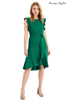 Phase Eight Green Victoriana Dress