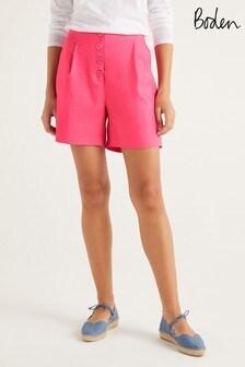 Boden Pink Bamburgh Shorts